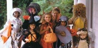 Halloween kids e