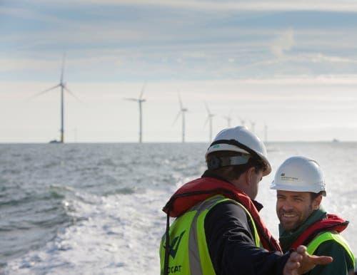 Iberdrola opens €2 billion offshore wind farm in West Duddon Sands