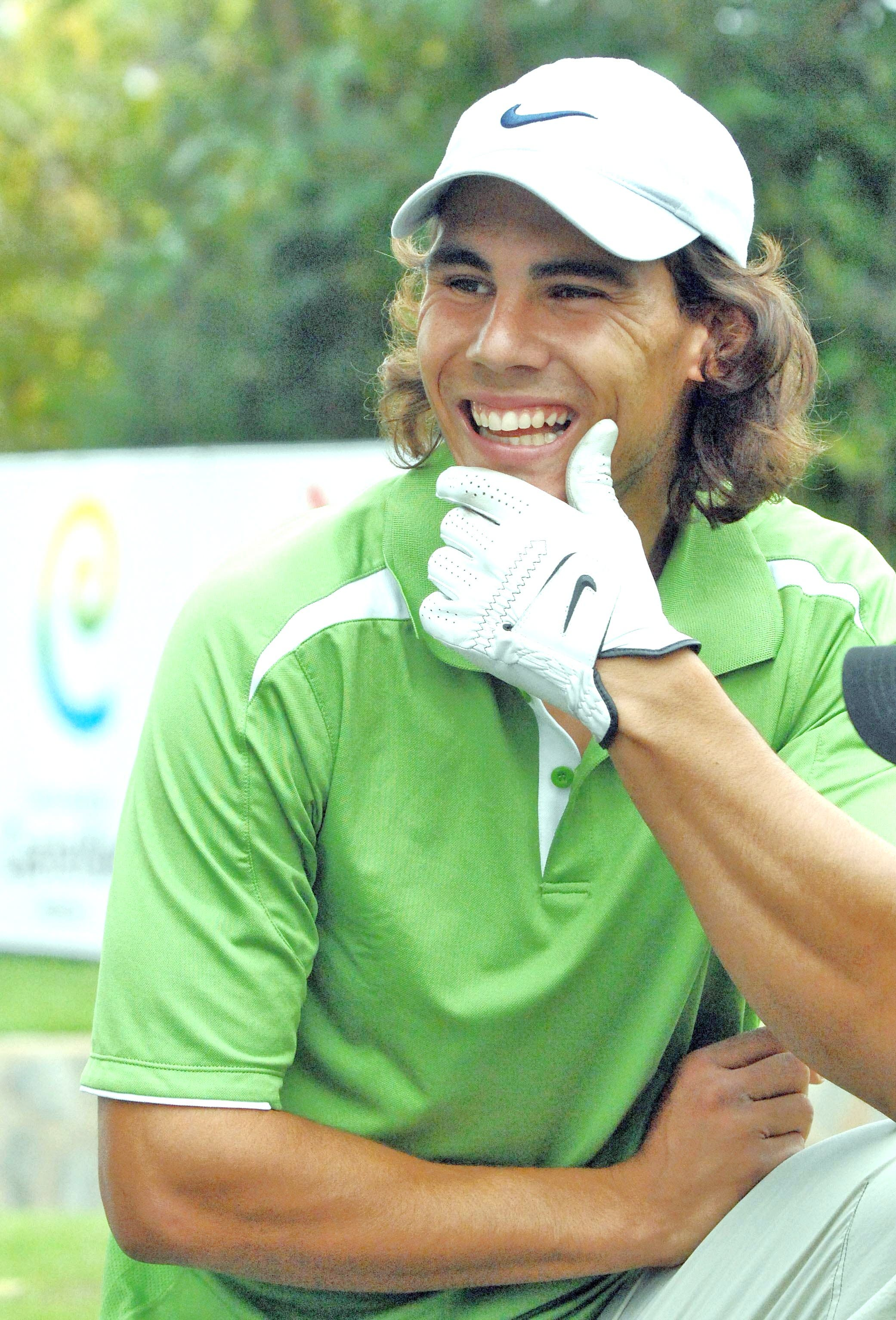 Rafa Nadal plays pranks on golfers in Mallorca