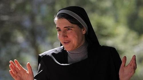 Spanish pro-abortion nun is setting out to take on the establishment