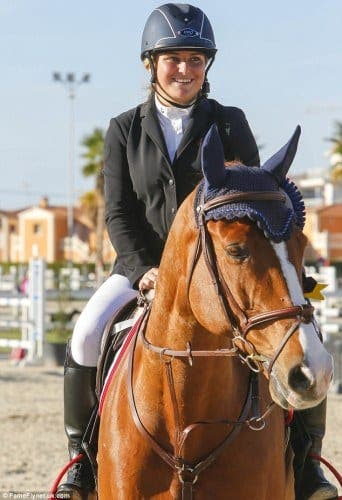 Roman Abramovich's daughter scoops first place in Valencia equestrian event