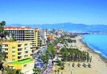 Torremolinos beach front e