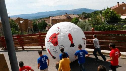 PETA urges Spain to launch running of the 'ball' festival