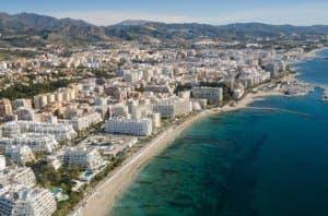 Marbella coast