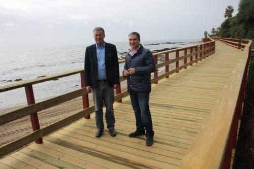 Coastal footpath from La Cala to Calahonda inaugurated in Mijas