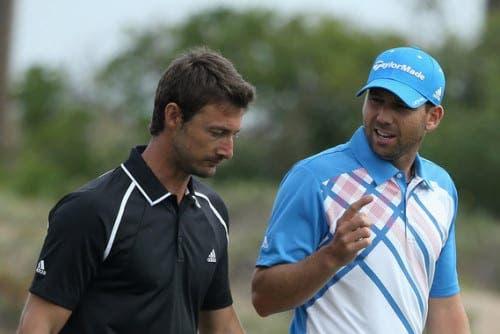 Sergio Garcia 'hires' Juan Carlos Ferrero as caddie