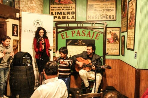 Taking a twirl… flamenco in Jerez