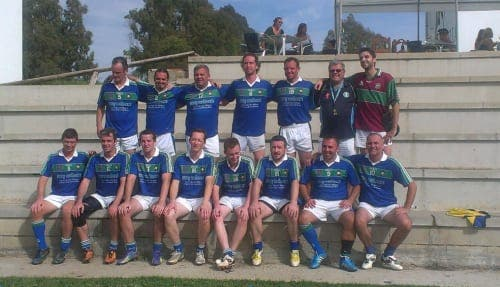 Call for Gaelic footballers along the Costa del Sol