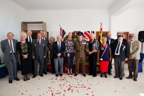 Remembrance service held in Nerja to mark 100th anniversary of WWI
