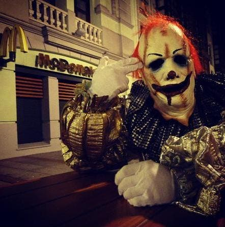 Violent 'clown craze' arrives in Spain