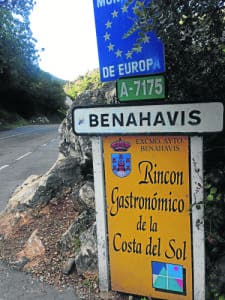 The gastronomic corner of the Costa del Sol