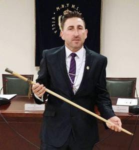 Manilva mayor Diego Urieta