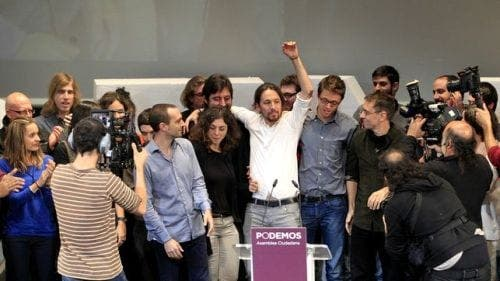Podemos back in first place, says latest opinion poll