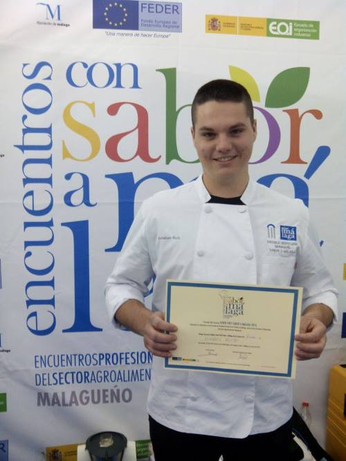 Sabor a Malaga Young Chef competition winner crowned