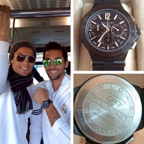 Cristiano Ronaldo gives €8,000 watches to each of his Real Madrid team-mates