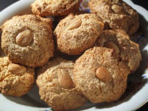 christmas recipes - almendrados