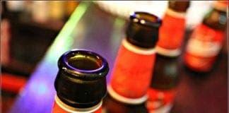 cruzcampo beer bottles e