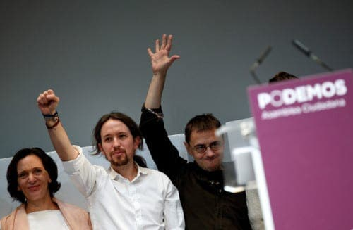Podemos remain at the top of the polls and gaining ground