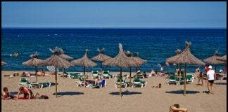 spanish beach