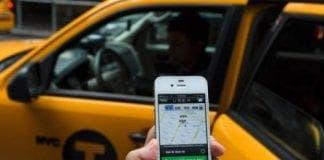 uber cab e