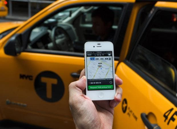 Uber taxi app banned in Spain