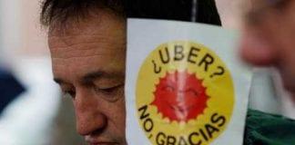 uber no gracias e