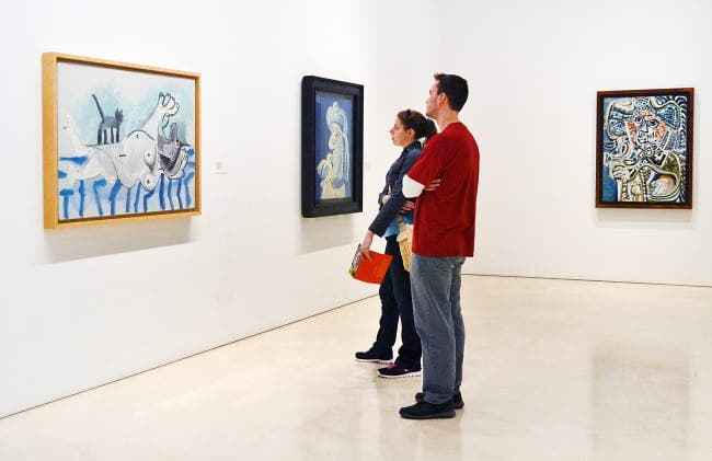 Malaga Picasso Museum is Andalucia's most visited museum