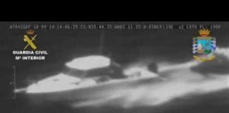 VIDEO: High-speed chase between the Guardia Civil and a drug dealer