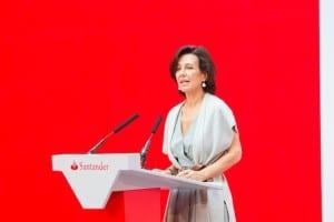 Ana Botin, president of Santander Bank