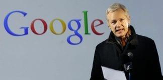 Assange google