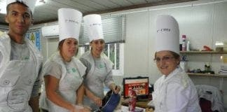 Catering school La consula students