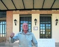 One man protest David