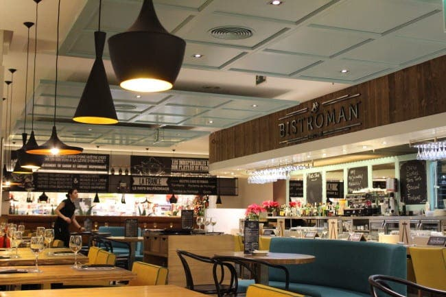 Bistro with a sushi twist opens in Marbella's Corte Ingles