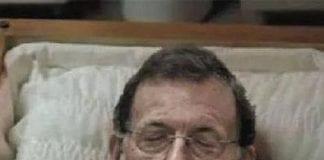 Rajoy dead pic e