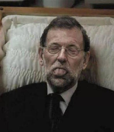 Fake picture of 'dead' Spanish PM Rajoy causes outrage