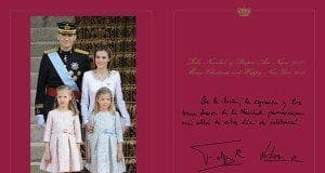 Royal Xmas card