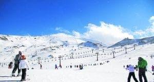 Sierra Nevada slopes