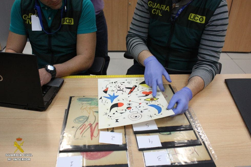 Three people arrested in art forgery investigation