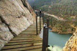 CAMINITO DEL REY: The death-defying path could be one of Andalucia's biggest tourist attractions