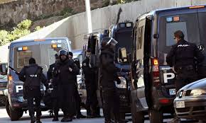 Four suspected Islamist militants arrested in Ceuta