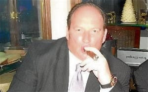 Convicted fraudster Nigel Goldman, AKA Howard del Monte