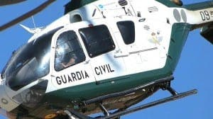 FILE PIC: Guardia Civil helicopter