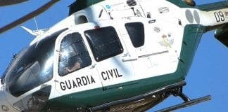 guardia civil helicopter