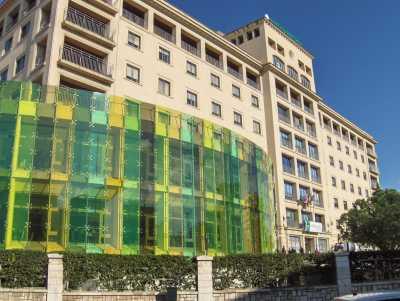 Acid attack in Marbella