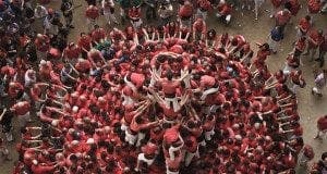 human towers catalonia david oliete