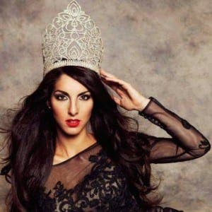 CHESS QUEEN: Miss Gibraltar Shyanne Azzopardi