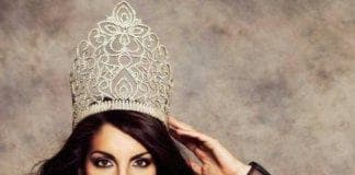 miss gibraltar  at the miss world pageant