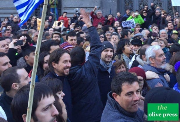 podemos madrid march for change IMG  e