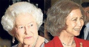 queen elizabeth and queen sofia are cousins