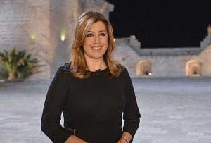 FLYING SOLO: Junta de Andalucia president Susana Diaz